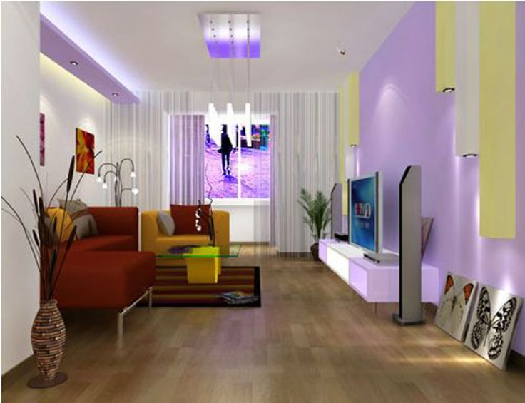 Third Parameter To Look For While Buying A Single Colour Led Light Is The Wattage Small Living Room