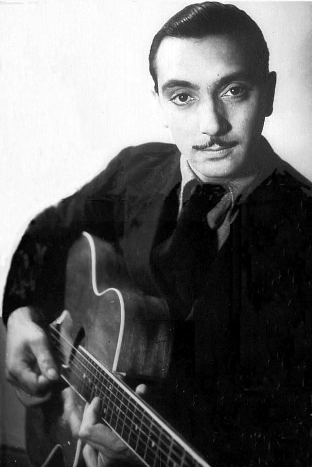 Django Reinhardt: Jazz guitarist extraordinaire. #jazz #swing http://www.pinterest.com/TheHitman14/musician-bluesjazz-%2B/