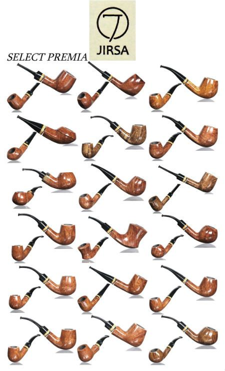 Dýmky Jirsa Select Premia Jirsa Select Premia pipes