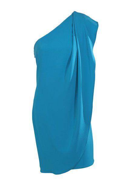 Mark + James by Badgley Mischka One Shoulder Cocktail Dress - $200 #LoveThatCloset #Designer #Consignment #Sale #Dress #BadgleyMischka