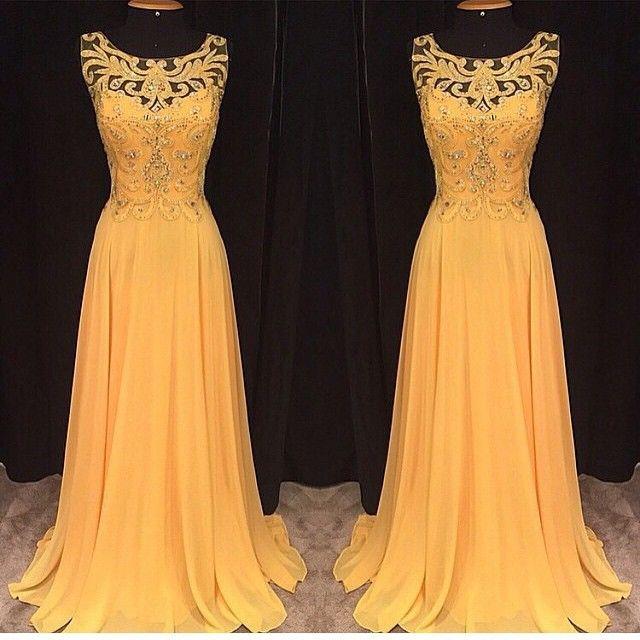 Vestido Maxi Floral Recortable Murciélago Amarillo: M