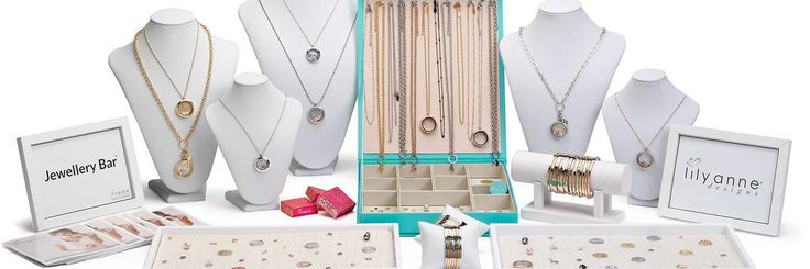 Lily Anne Designs Jewellery Bar display!