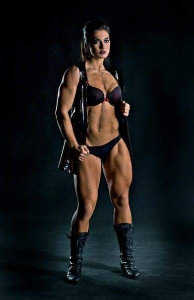 Athletic Muscle Babe 30