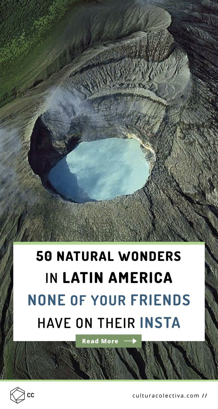 Top natural wonders in Latin America that will fill you with wanderlust and make you want to visit them. Most of them still haven't seen many travelers.  Poás Volcano, Costa Rica.