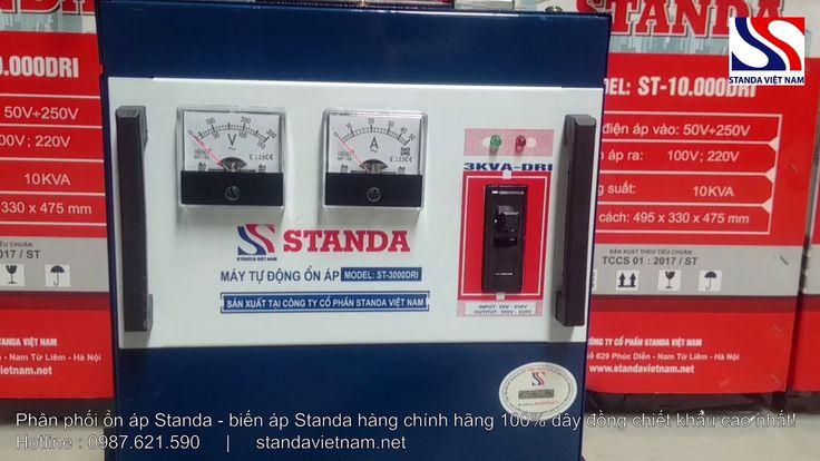 Ổn áp Standa 3KVA DRI dải 50V250V hàng chính hãng - standavietnam.net Ổn áp Standa 3KVA là dòng ổn áp có công suất nhỏ vì vậy sản phẩm này chỉ phù hợp khi sử dụng cho các thiết bị điện riêng lẻ như điều hòa tủ lạnh dàn karaoke gia đình Hoặc sử dụng làm đổi nguồn cho các thiết bị nhập khẩu từ Nhật Bản Đài Loan Hiện nay đây là sản phẩm có công suất nhỏ nhất mà Công ty Cổ phần Standa Việt Nam sản xuất. Tác dụng chính của máy là ổn định điện áp bảo vệ các thiết bị điện cơ bản trong nhà. Máy giúp…