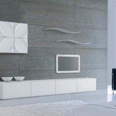 Parete attrezzata moderna da salone Tonin Casa Leaves – C02