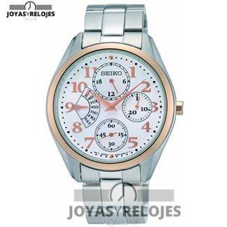 Colosal ⬆️😍✅ Seiko SRL052P1 😍⬆️✅ , Modelo perteneciente a la Colección de RELOJES SEIKO ➡️ PRECIO 152.52 € Disponible en 😍 https://www.joyasyrelojesonline.es/producto/seiko-srl052p1-reloj-de-pulsera-analogico-para-mujer-con-mecanismo-de-cuarzo-revestimiento-de-acero-tamano-xs-color-plateado-y-negro/ 😍 ¡¡Corre que vuelan!! #Relojes #RelojesSeiko #Seiko
