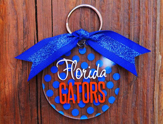 The University of Florida Gators College Key Chain - $12.00