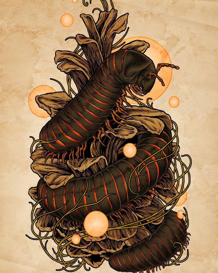 Scaling the Ziggurat - digital 2011 Prints at http://ift.tt/2n54YQ8  #throwbackthursday #throwbackart #artistforhire #natureart #millipede #printsforsale  #prints #artprints #artoftheday  #artistsofinstagram #darkart #insects #insectart #scientificillustration #illustration #pinecone #ziggurat #mattverges