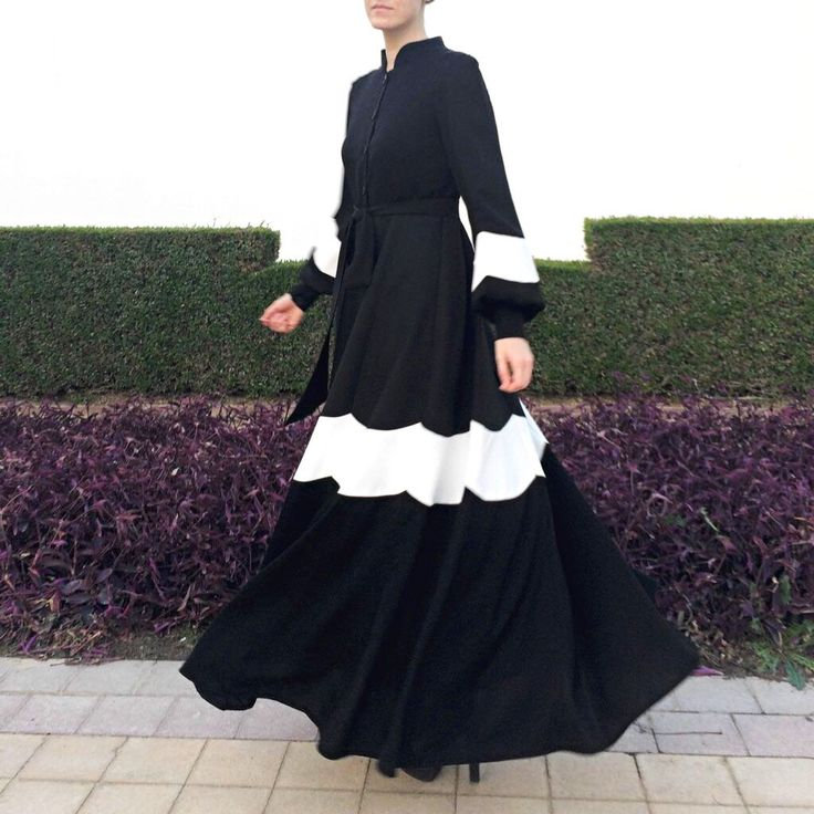 Daisy Abaya Dress  Black