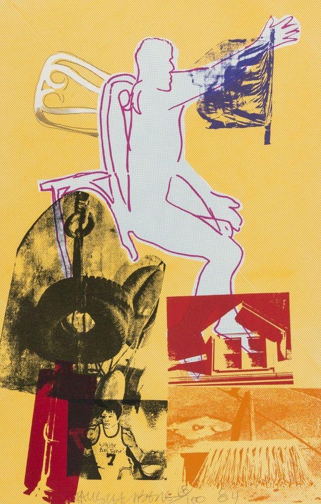 Robert Rauschenberg, Portrait of Merce, 1984, Forum Auctions: Select Spring Editions