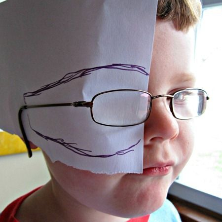 Amblyopia Eye Patch DIY | What is Amblyopia? And How to Make Eye Patches for Kids at B ...