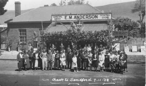 Sandford One-Place Study, Victoria