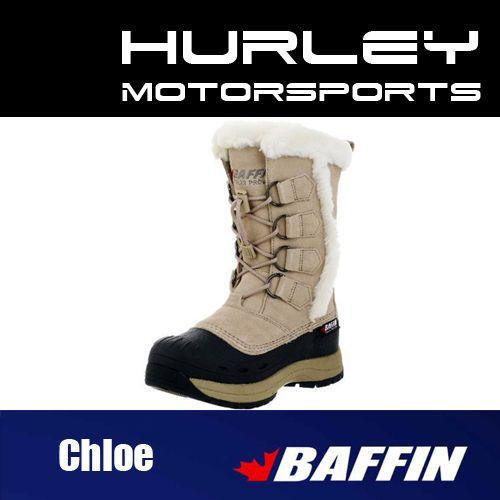 """BAFFIN """"CHLOE"""" Womens/Ladies Snowmobile Boot -Sand- Size 6, 7, 8, 9, 10, 11 #Baffin #SnowWinter"""