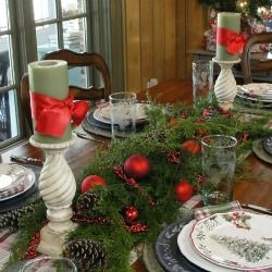 French Country Casual Tablescape