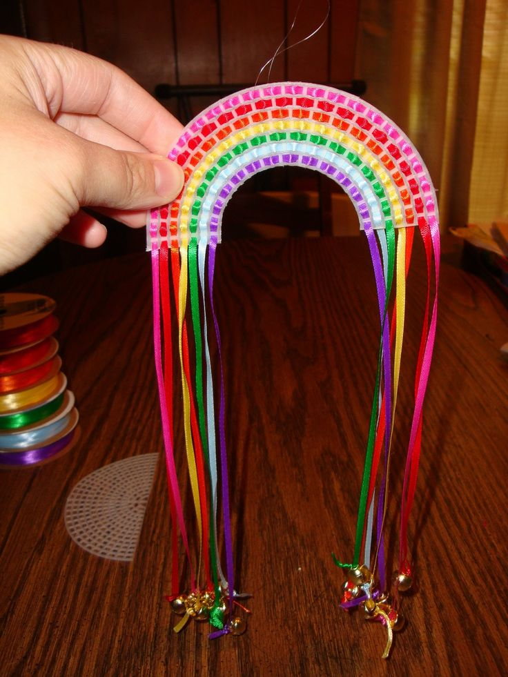 Diy Rainbow Windchime Cute For Kiddies From All Things