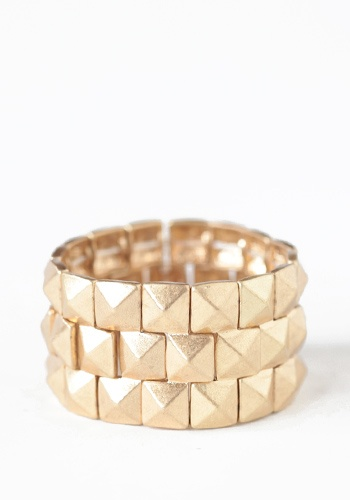 Gold Armory Bracelet