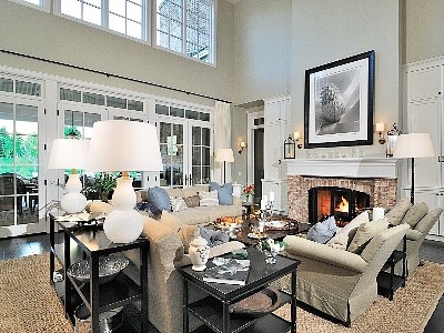 """living room from house in """"Somethings Gotta Give"""""""