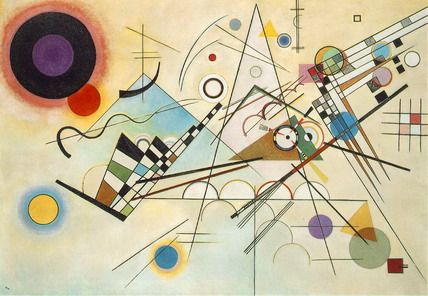 Famous Modern Abstract Art Paintings Wallpaper for Living Room Wall Decals Stckers