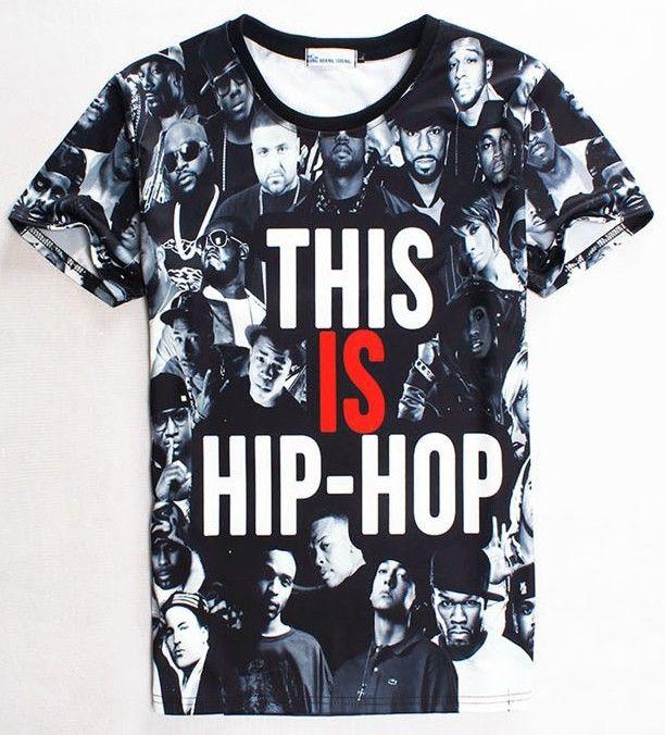 Купить [ Mikeal ] американский хип хоп мода майка для мужчины / женщины 3d футболки печать многие люди свободного покроя тенниски вершины 1859и другие товары категории Футболкив магазине BestClothingнаAliExpress. футболка мультфильма и футболки татуировки