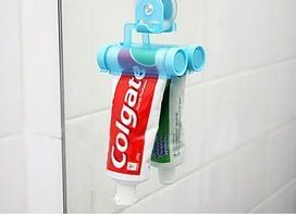 Useful Gadgets You Didn't Know Existed - Rolling Toothpaste Squeezer We've all spent an excruciating amount of time in the bathroom trying to squeeze the last remnants of toothpaste from the tube…but those days are over because this rolling device has got it covered!