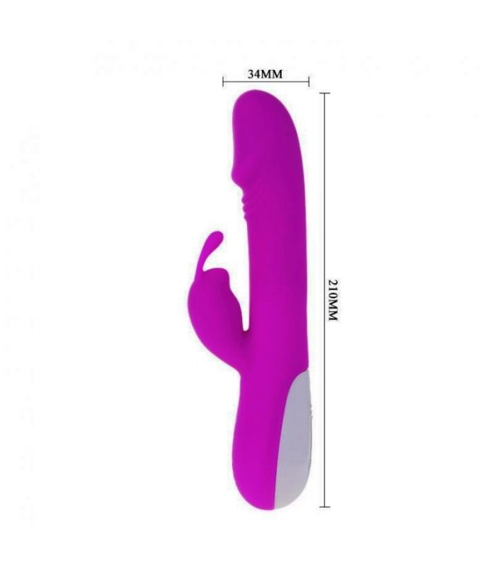 Vibrator Rabbit Pretty Love Robert 21cm | sexshop xtoys.ro
