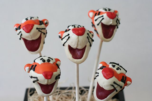 Tigger Cake Pops by Sweet Lauren Cakes, via Flickr