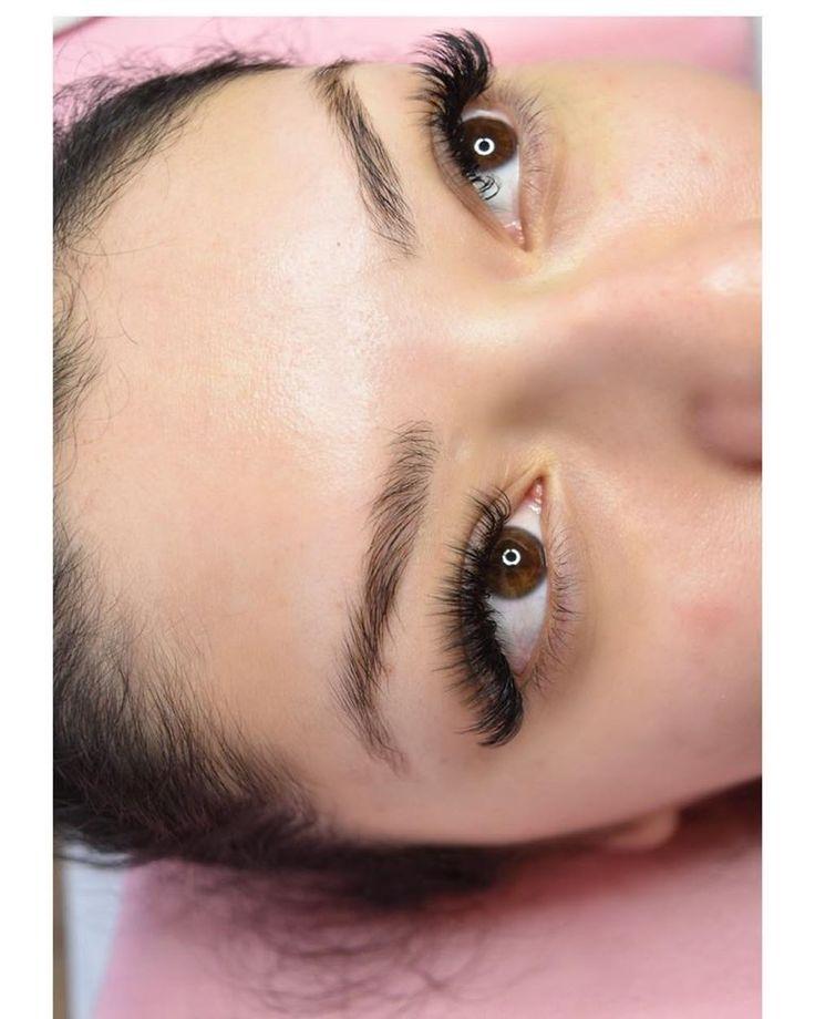Cat Eye #eyelashextensions Volume Cat Eye Lash Extension ...