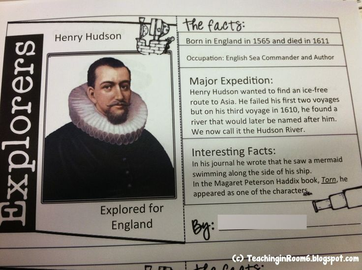 Using this computer template on Power Point, the students were able to create an Explorer Trading Card about one of the early European explorers who came to the New World.