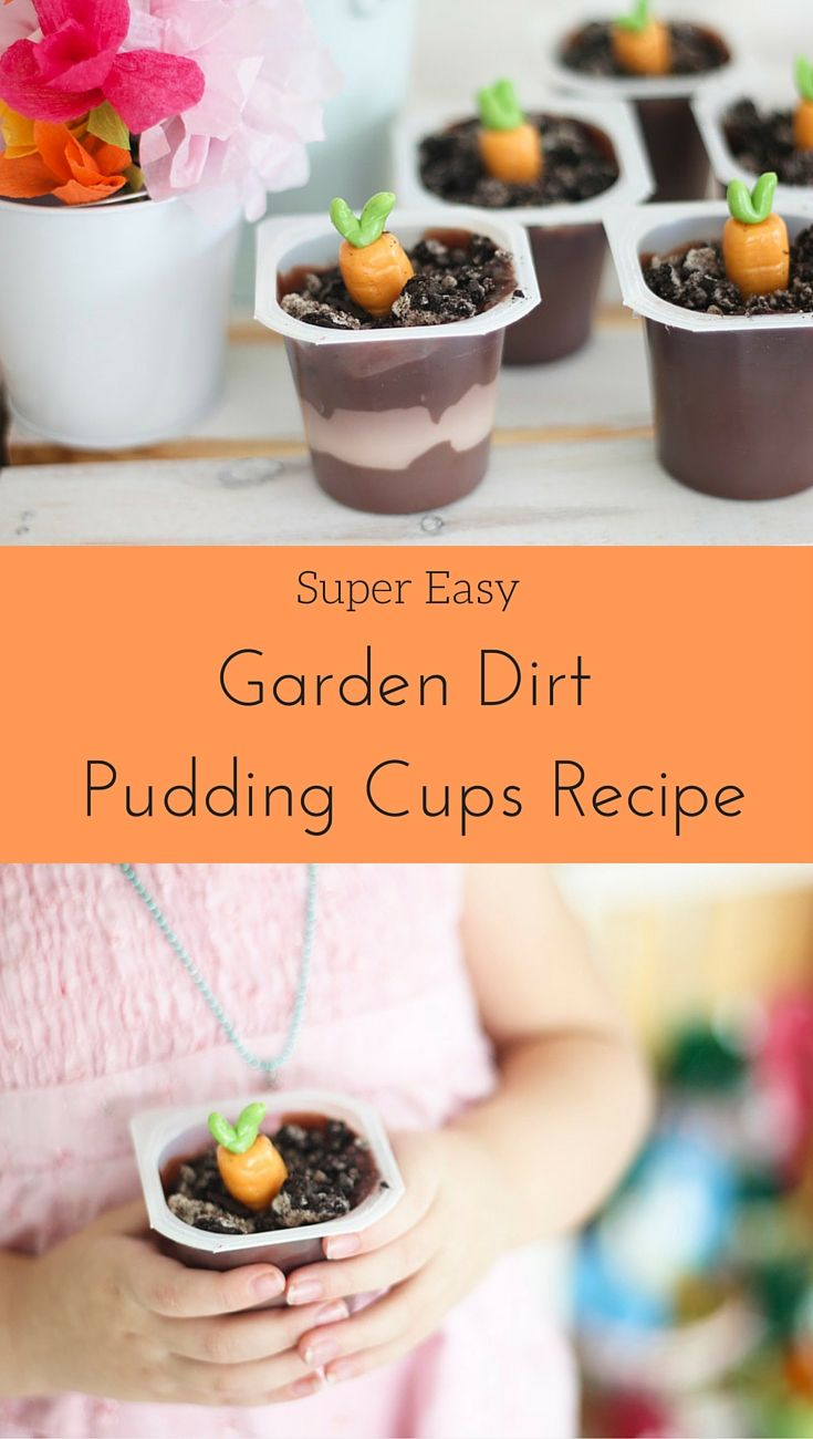 When we think about Easter, there are a few key things that pop into our head – bunnies, eggs, and carrots. When coming up with some fun Easter dessert ideas, carrots planted into a garden dirt pudding cup sounded like the perfect idea. Click to get this fun dessert recipe from @saraschmutz