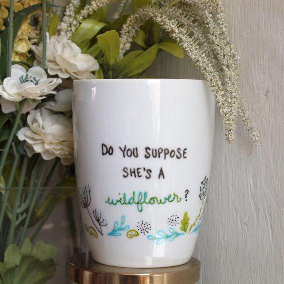 Do You Suppose She's a Wildflower? // Alice in Wonderland Mug