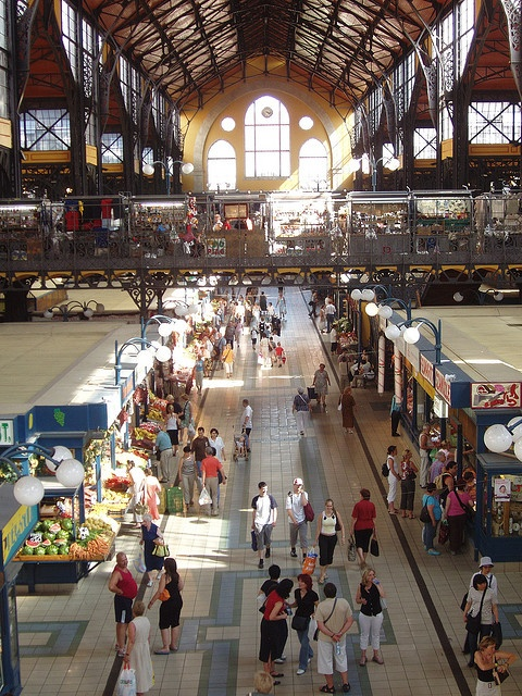 "Budapest, Hungary Central Market. Amazing people, ""stuff"" and FOOD!"