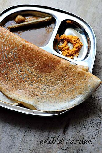 no-grind dosa recipe with urad and rice flour