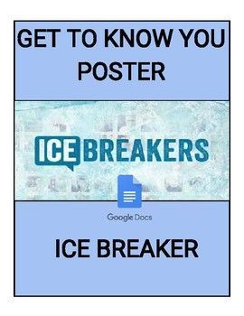 The first few weeks of school are challenging as everyone starts a new beginning. This Get To Know You Ice Breaker will help ease the beginning of a new class. It will also help build a relationship with the students. It is a GREAT icebreaker for all SUBJECTS and GRADES!