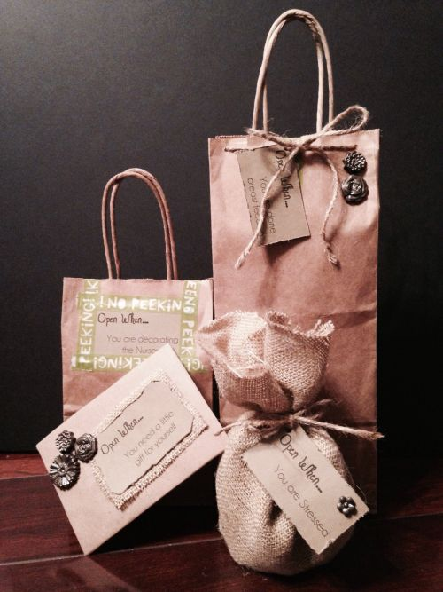 """""""Open When..."""" Gifts for new parents"""