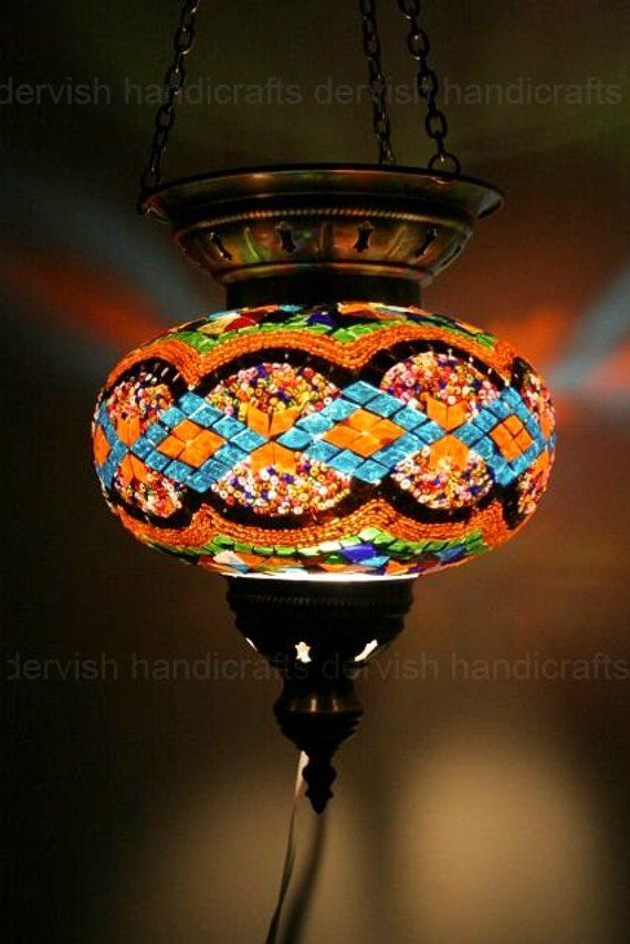 Free Shipping Turkish Pendant Lamp Hanging Lamp Chandelier Etsy Turkish Lamps Turkish Mosaic Lamp Mosaic Lamp