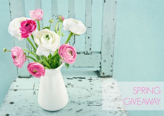 Spring giveaway: 21 awesome prizes up for grabs {over $6000 in value}!