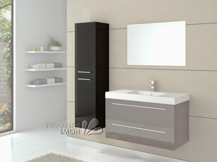 New post Meilleur Brillant Avec Belle Meuble Rangement Salle De Bain - salle de bain meuble noir