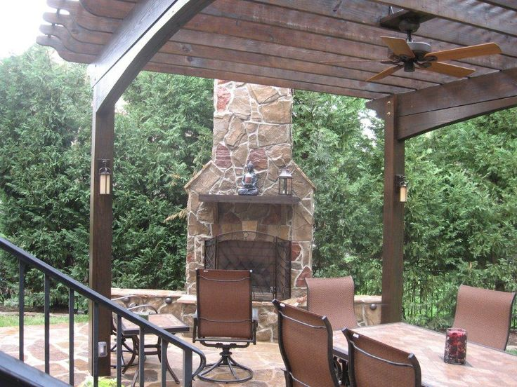46 best chicago area gazebo builder images on pinterest for Outdoor gazebo plans with fireplace