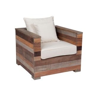 edmonton modern brown accent chair