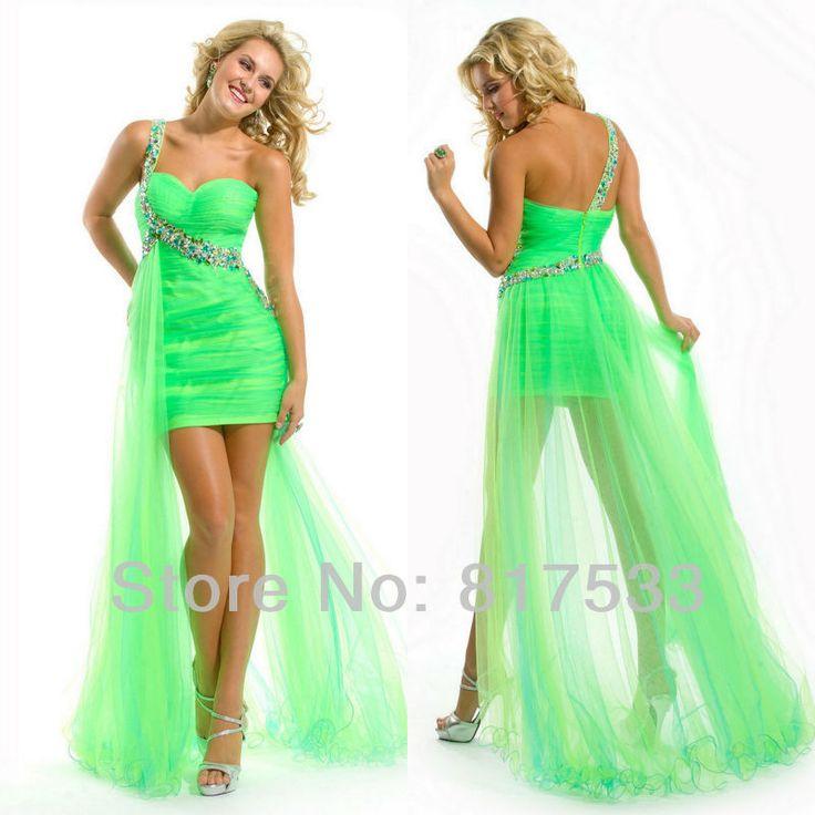 Luminous Green Dresses