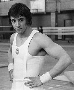 Magyar Zoltán szertornász. 1976. Montreál, 1980. Moszkva