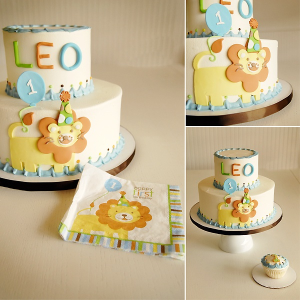 31 best Leos first birthday images on Pinterest Lion cakes