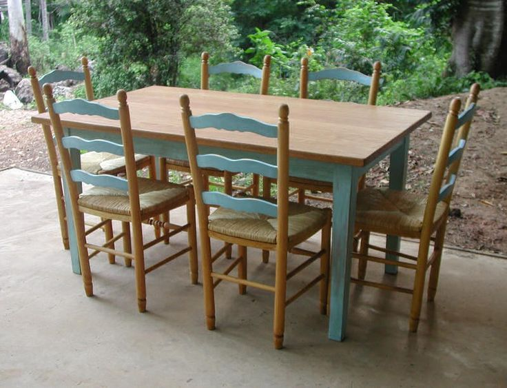 spray painting kitchen table and chairs country tables painted different colors
