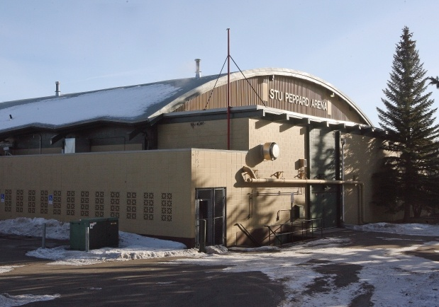 Recent melting and freezing of snow caused structural damage to two large sections of the roof of Stu Peppard Arena in the southwest, forcing its closure until at least March.