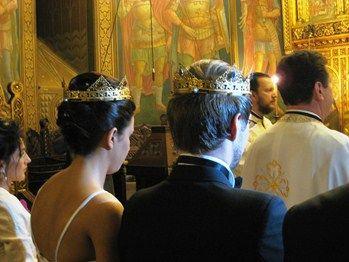 Romanian Orthodox Wedding Crowns