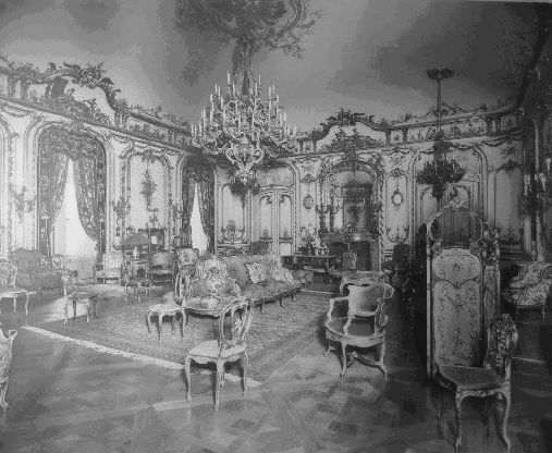 Cornelius Vanderbilt II Mansion. NYC. The Grand Salon was Mrs. Vanderbilt's favorite room in the entire house