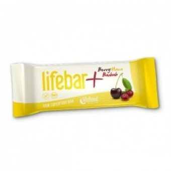 Lifebar Plus -RAW ENERGY BARS - Berry + Maca + Baobab