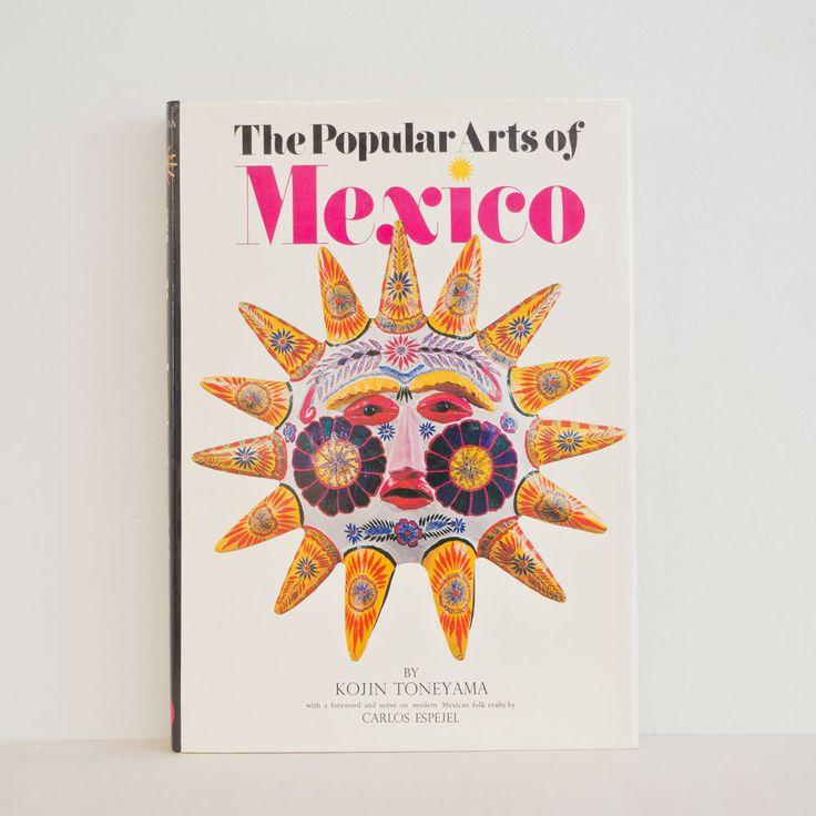The Popular Arts of Mexico 利根山光人 著「メキシコの民芸」の英語版です。