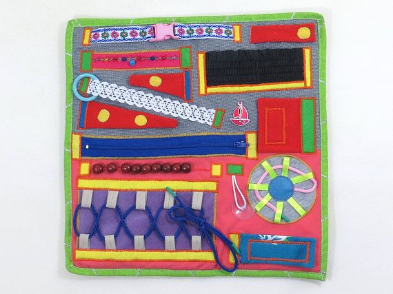 Dementia fidget Quilt blanket Autism special needs game Parkinsons fine motor sensory blanket Stroke rehab sensory play Disability gift Toy This is great educational and activity busy blanket is very important for the development of motor skills, intellect and imagination. Also it